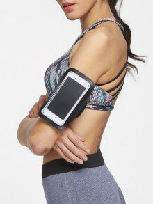 Convenient! Black 5. Mobile Phone Arm Belt Gym Accessories