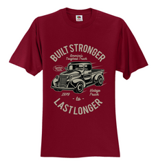 Built Stronger Last Longer Unisex T-Shirt