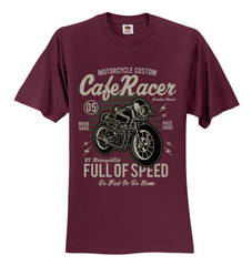 Cafe Racer Full Of Speed Unisex T-Shirt