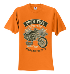 Born free Chopper Unisex T-Shirt
