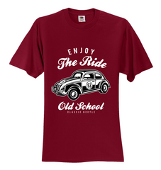 Enjoy The Ride old School Unisex T-Shirt