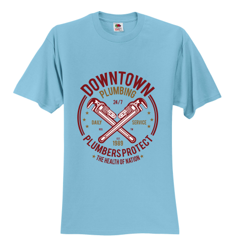 Downtown PLUMBERS Protect  Unisex T-Shirt
