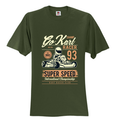 Go Kart Racing 93 Unisex T-Shirt
