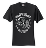 Hockey Heroes Play Hard Unisex T-Shirt
