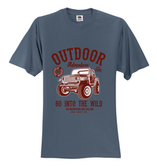 Outdoor Go into the wild Unisex T-Shirt