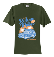 Riding the Waves Unisex T-Shirt