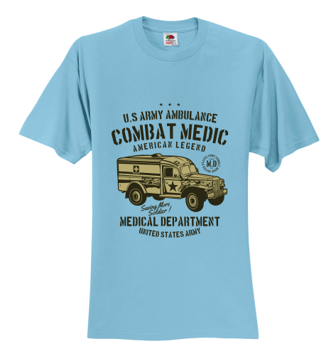 US Army Ambulance Unisex T-Shirt