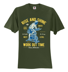 work out time Unisex T-Shirt