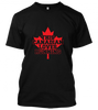 03 this canadian loves running Unisex T-Shirt