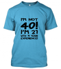 03 im not forty Unisex T-Shirt