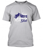 04 sorry boys dirtbike for girls Unisex T-Shirt
