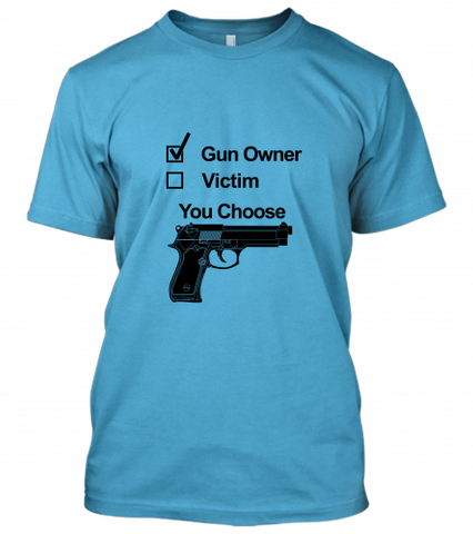 01 gun owner victim Unisex T-Shirt
