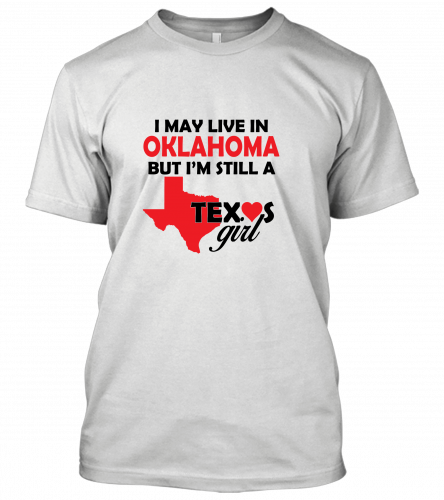 i may live in oklahoma Unisex T-Shirt