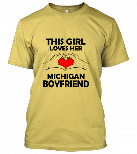 08 this girl michigan boyfriend Unisex T-Shirt