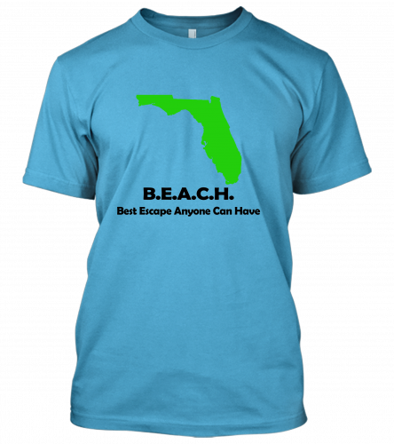 04-BEACH-Best-Escape-Anyone-Can-Have Unisex T-Shirt