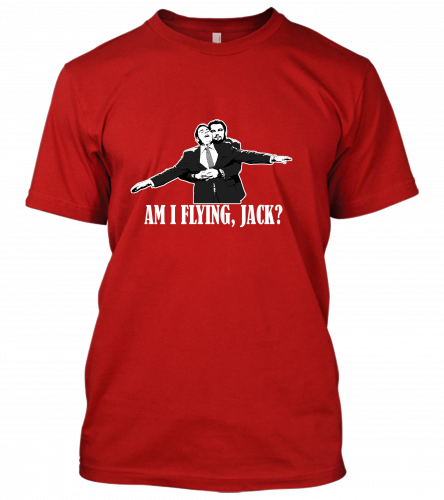 AM I FLYING JACK? Unisex T-Shirt