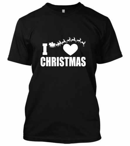 02 I heart christmas Unisex T-Shirt
