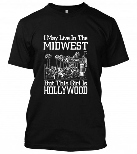 i May Live In The Midwest unisex T-Shirt