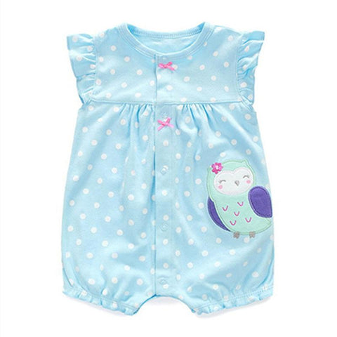 Cute Cartoon Animal Cotton Rompers