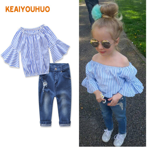 Jeans + Dovetail T-shirt Set 2-7 Years