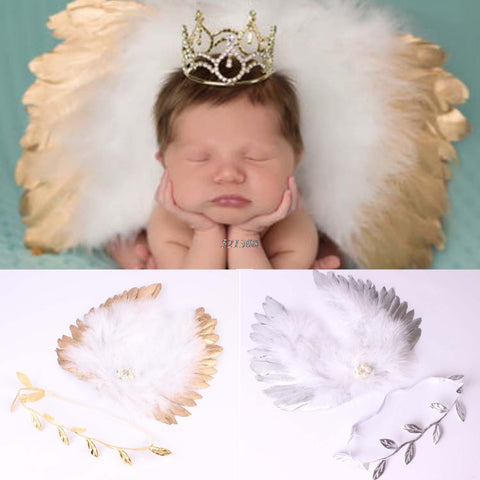 Infant Angle Wings Props Outfits