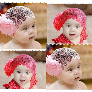Girl Lace Elastic Hairband ccessories