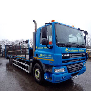 DAF CF 75 310 26 Tonne 6 x 2 Beavertail Plant Lorry