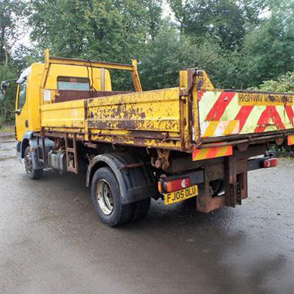 DAF LF 45.150 7.5 tonne tipper lorry
