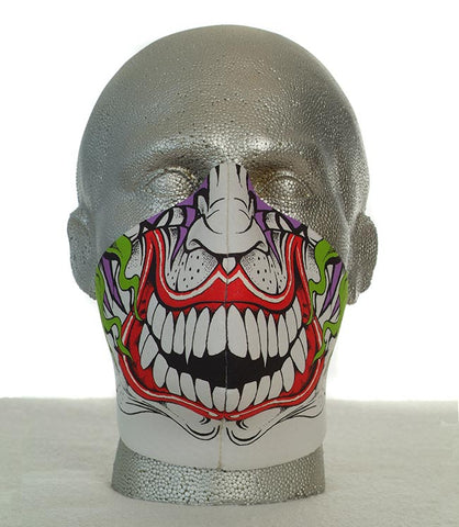 Bandero men's Joker biker mask