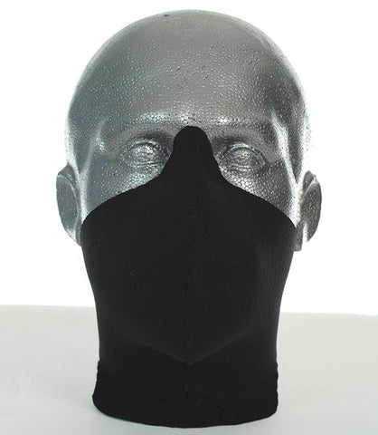 Bandero men's long neck Midnight biker mask