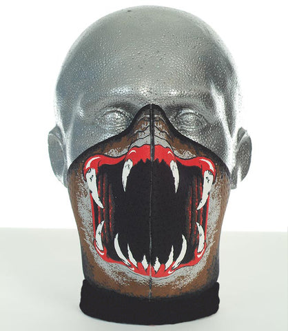 Bandero men's long neck Slayer biker mask