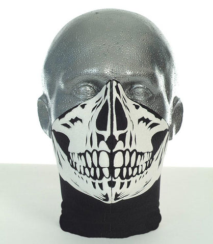 Bandero men's long neck biker mask