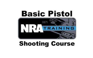 NRA BASIC PISTOL - WOMEN ONLY COURSE   (Lunch Included)