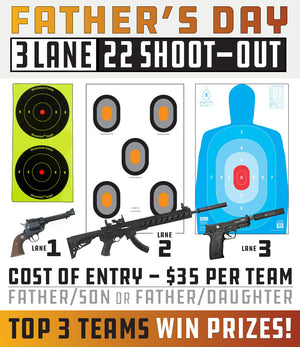Father's Day 3 Lane / 22 Shoot-Out