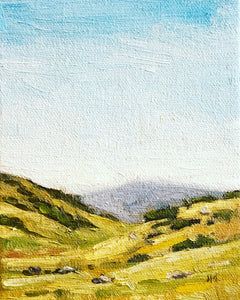 Boise Foothills 5X7""