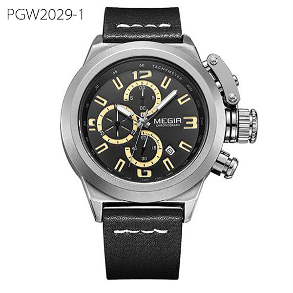 Quartz Men Watch Luminous Relogio Masculino Multifunction Wrist Watches Men Clock Chronograph Watches