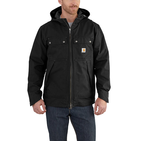 Mens Quick Duck 3 in 1 Rockwall Jacket - Black