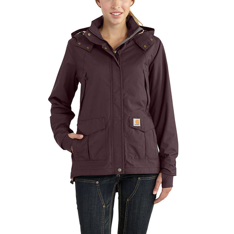 Womens Shoreline Jacket - Deep Wine