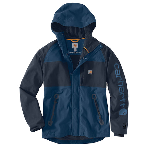 Mens Angler Jacket - Dark Blue/Navy