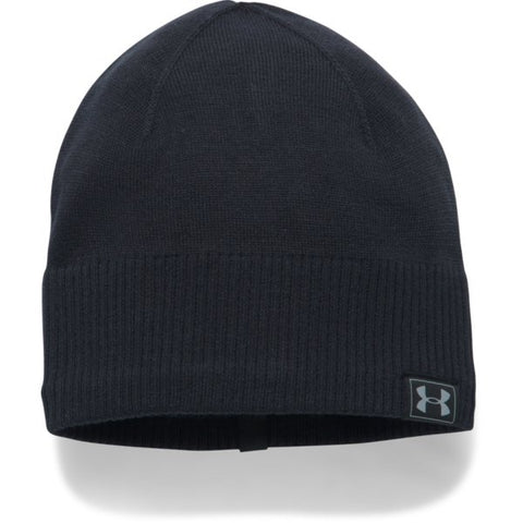 Men's UA Reactor Knit Beanie - Black