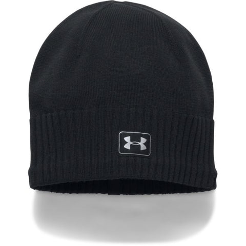 Reflective Knit Beanie - Black