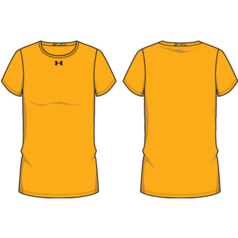 UA W's Locker Tee - Steeltown Gold