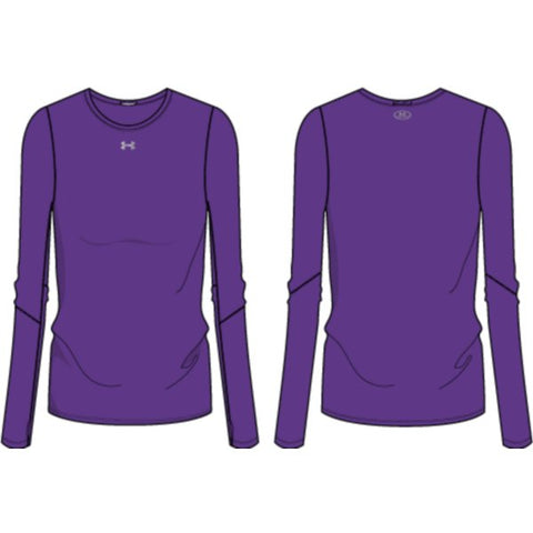 UA W's Locker Tee LS 2.0 - Purple
