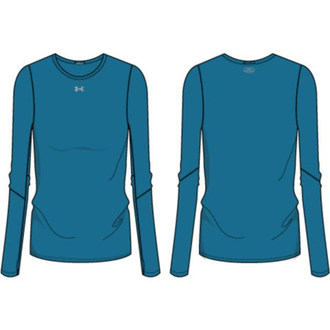 UA W's Locker Tee LS 2.0 - Coastal Teal