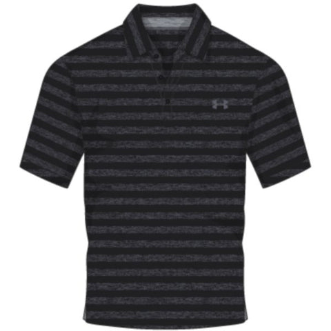 CC Scramble Stripe Polo - Black