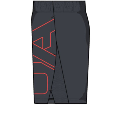 UA Cage Graphic Short - Anthracite