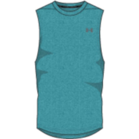 UA Threadborne Mscl Tank Nov - Swallowtail Full Heather