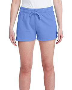 Comfort Colors Ladies' French Terry Short - Flo Blue