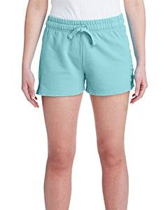 Comfort Colors Ladies' French Terry Short - Chalky Mint