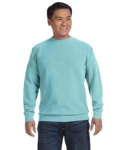 Comfort Colors Adult Crewneck Sweatshirt - Chalky Mint